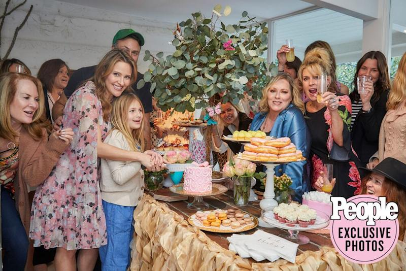Jill Wagner and friends at her L.A. shower | Steve Erle