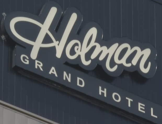 John Cudmore, manager of the Holman Grand Hotel in Charlottetown, says the hotel is about 90 per cent full this weekend. (Tony Davis/CBC - image credit)