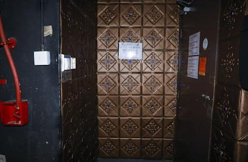 The entrance of China Secret in Tsim Sha Tsui, which has been linked to at least two Covid-19 cases. Photo: Dickson Lee