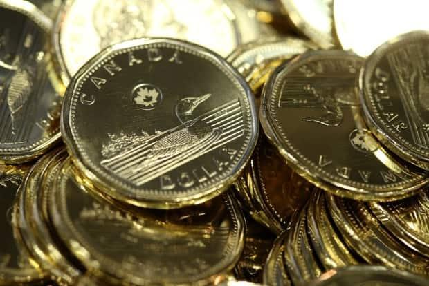 The loonie hit 82 cents US on Thursday, a level it has not topped since 2017. (Shannon VanRaes/Bloomberg - image credit)