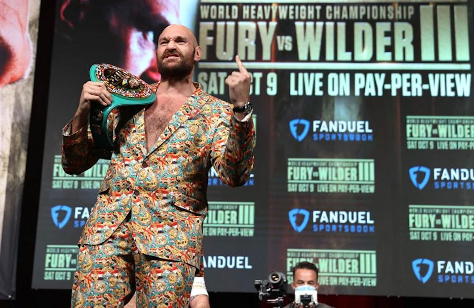 """The biggest victory of Tyson's life and career has been his ability to overcome depression and extreme anxiety - conditions which kept him out of the ring between 2015 and 2018. Speaking about his phenomenal comeback, Tyson said: """"It was internally, externally and spiritually: a combination of the three. To go from the weight I was at, where I was at in my life, being 400lb, couldn't sleep with the light off, scared to death of everything, anxiety killing me. I've come a long, long, long way. My anxiety was terrible. I believe anxiety is one of the worst things that anybody could have. It's the fear of the unknown. It's crazy."""""""
