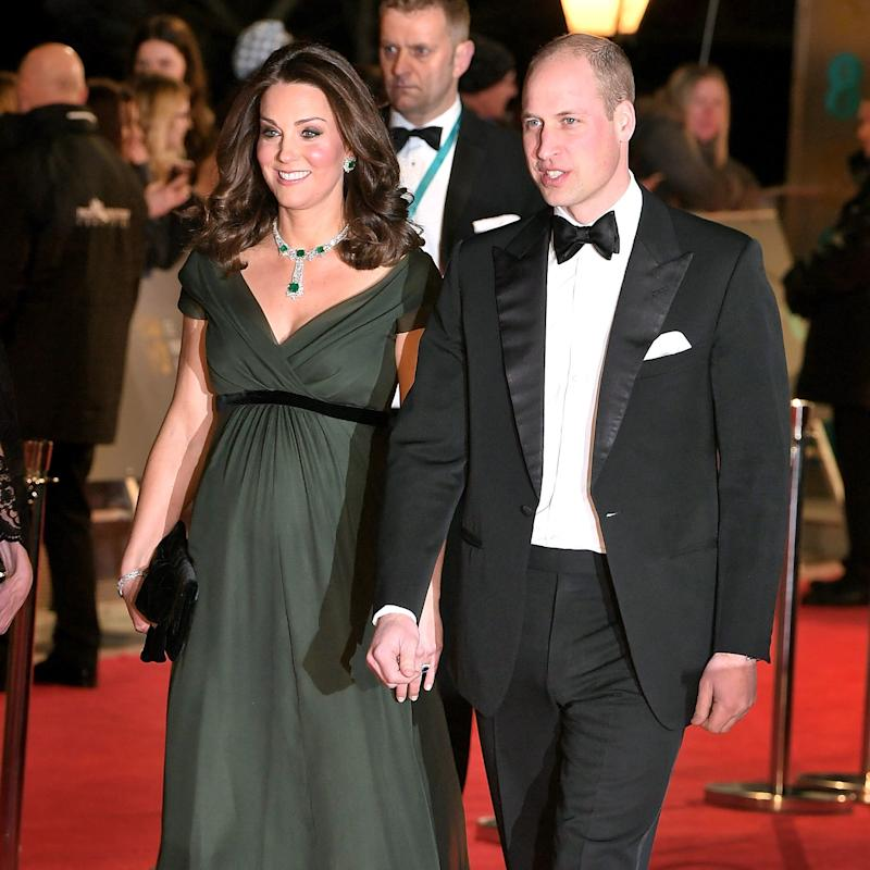 Kate Middleton's Elevated Maternity Style Is in Full Force at the BAFTAs