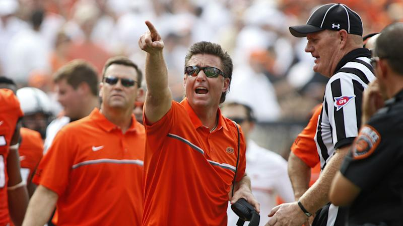 OK State's Mike Gundy wants a rules expert around after Central Michigan fiasco
