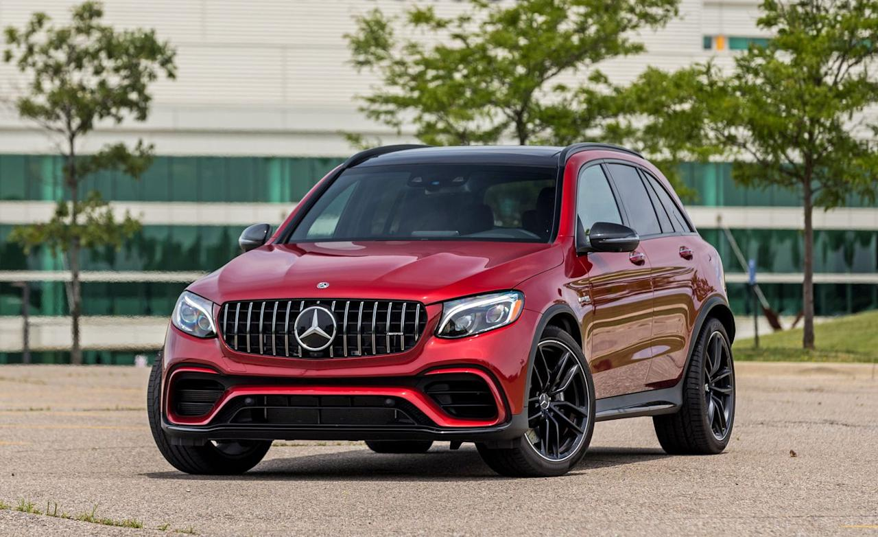 Detailed Photos of the 2018 Mercedes-AMG GLC63