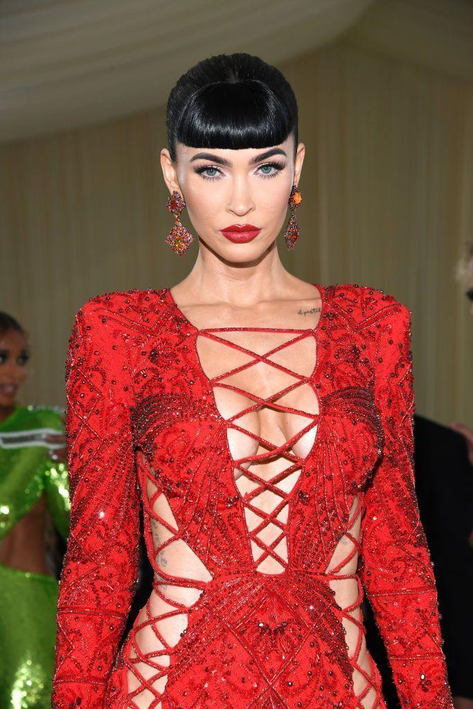 """<p>From her """"wet look"""" last night at the MTV VMAs to a chic pony with short, sharp bangs, Megan Fox can do no wrong.</p>"""