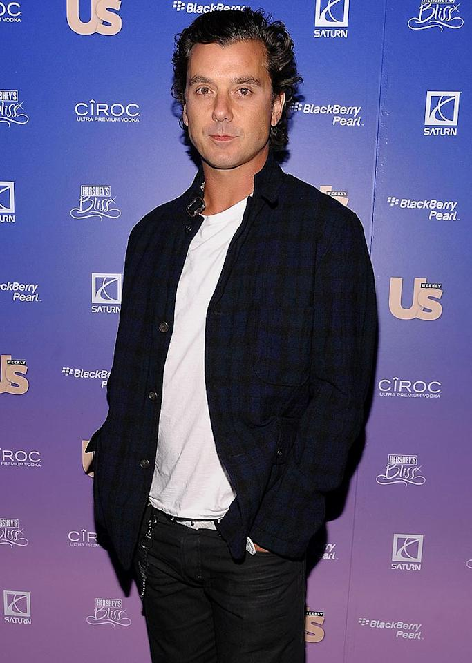 "Gavin Rossdale was named Rock Rebirth of the Year. It seems that the new dad could've used a bit more sleep! James Devaney/<a href=""http://www.wireimage.com"" target=""new"">WireImage.com</a> - October 21, 2008"
