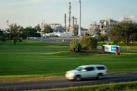 The Denka Performance Elastomer chloroprene plant sits a few hundred yards from the residential streets of Reserve, Louisiana. The EPA classified chloroprene as a likely carcinogen in 2010 and has been closely monitoring air quality near the plant since 2016.