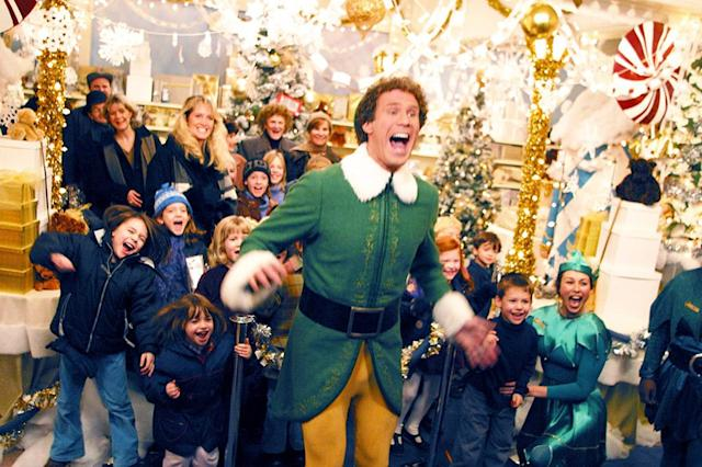 "<p>""Buddy the Elf, what's your favorite color?"" There are your traditional Christmas movie classics, and your contemporary Christmas movie classics, and this Jon Favreau-directed, Will Ferrell-starring gem might be the rare gift that fits in both stockings. Charting the journey of Santa's most lovable, most <em>ginormous</em> helper as he leaves the North Pole for New York, it's an uproariously funny fish-out-of-water comedy, charming family yarn, and heartfelt love letter to the Big Apple. —<em>Kevin Polowy</em> (Available on Amazon, Google Play, iTunes, Vudu, YouTube)<br><em>(Photo: New Line/courtesy Everett Collection)</em> </p>"