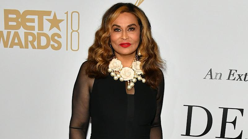Tina Knowles Tells 'Corny Joke' With Beyonce and Blue Ivy Before Having a Dance-Off to 'Apes**t'