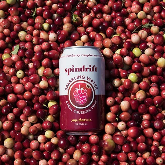 """<p><product href=""""https://www.amazon.com/Spindrift-Sparkling-Flavored-Squeezed-Calories/dp/B07CYYFQ2W/ref=sr_1_5?crid=2F02O9GNKMCSY&amp;dchild=1&amp;keywords=spindrift%2Bsparkling%2Bwater&amp;qid=1598548154&amp;sprefix=spindr%2Caps%2C313&amp;sr=8-5&amp;th=1"""" target=""""_blank"""" class=""""ga-track"""" data-ga-category=""""Related"""" data-ga-label=""""https://www.amazon.com/Spindrift-Sparkling-Flavored-Squeezed-Calories/dp/B07CYYFQ2W/ref=sr_1_5?crid=2F02O9GNKMCSY&amp;dchild=1&amp;keywords=spindrift%2Bsparkling%2Bwater&amp;qid=1598548154&amp;sprefix=spindr%2Caps%2C313&amp;sr=8-5&amp;th=1"""" data-ga-action=""""In-Line Links"""">Spindrift Sparkling Water, Cranberry Raspberry</product> ($18 for 24) is the only slightly biased review you'll see here. I'm allergic to cranberry, so I've never actually tried this flavor. For this reason, it goes to the bottom.</p>"""