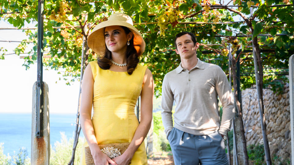 Shailene Woodley and Callum Turner find romance on the French Riviera in 'The Last Letter From Your Lover'. (Parisa Taghizadeh/StudioCanal)