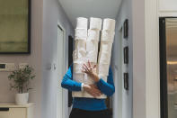 18. More than 27,000 trees are cut down each day so we can have toilet paper.