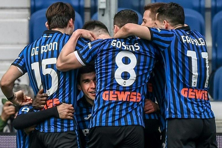Ruslan Malinovskiy (Bottom) scored as Atalanta beat Juventus in the league for the first time since 2001.