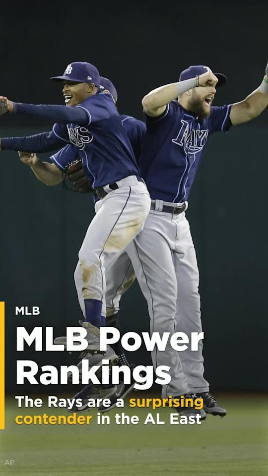 Check out this week's MLB Power Rankings including the surging Tampa Bay Rays.