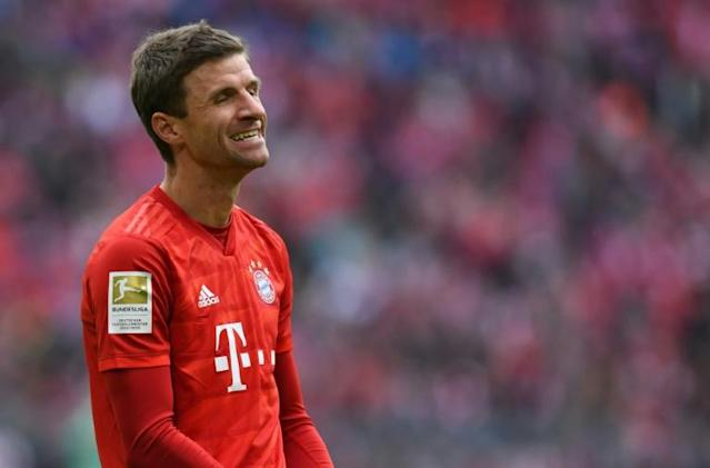 Thomas Mueller has made it clear he is not happy about having started Bayern Munich's last six games on the bench. (AFP Photo/Christof STACHE)