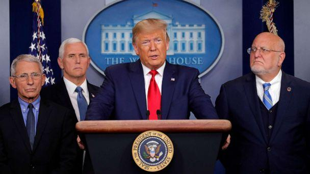 PHOTO: President Donald Trump speaks about the coronavirus in the press briefing room at the White House, Feb. 29, 2020, in Washington. (Carolyn Kaster/AP)
