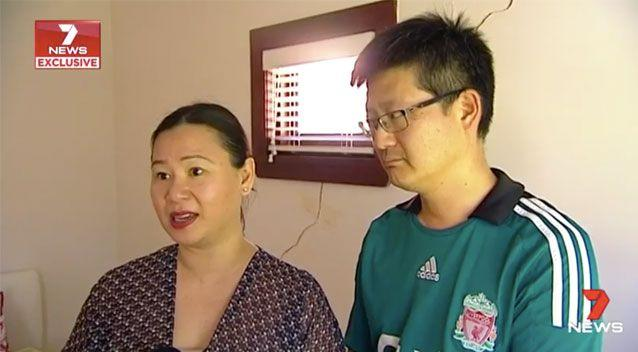Christine Wong Wan Po and her partner have had to close off parts of their home as its deemed unsafe. Source: 7News