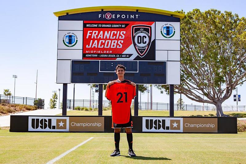 California 14-Year-Old Becomes Youngest Male Player to Ever Sign a Pro Soccer Contract