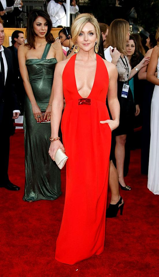 "<a href=""/jane-krakowski/contributor/34246"">Jane Krakowski</a> arrives at the <a href=""/the-15th-annual-screen-actors-guild-awards/show/44244"">15th Annual Screen Actors Guild Awards</a> held at the Shrine Auditorium on January 25, 2009 in Los Angeles, California."