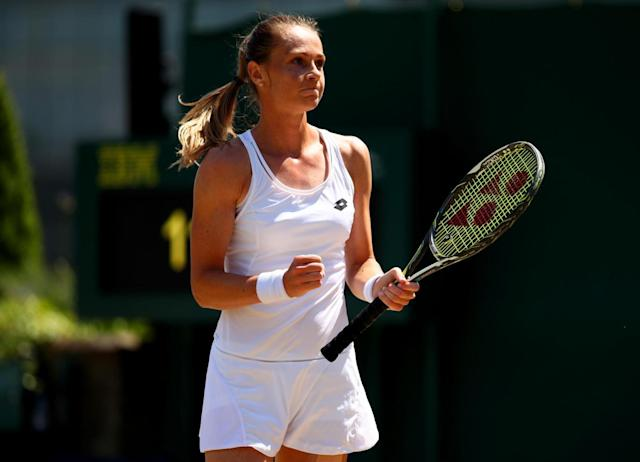 Rybarikova was one of the tournament's surprise packages (Getty)