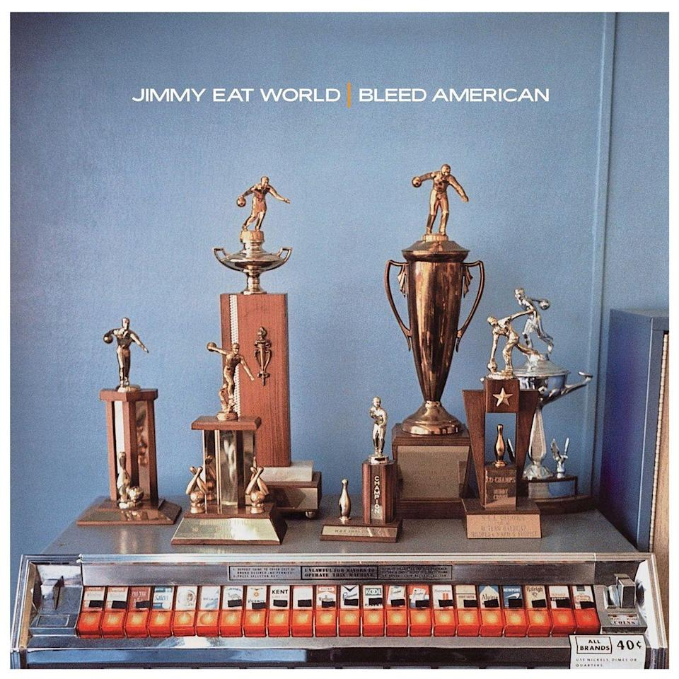 "<p><strong>Released:</strong> July 24, 2001 </p><p>Although the album is officially known as <em>Bleed American</em>, which is how it was originally released, Jimmy Eat World ended up re-releasing it as <em>Jimmy Eat World</em> after the terrorist attacks on 9/11. It went on to be their biggest commercial success, and the hit single ""The Middle"" got them radio play and went platinum. </p>"