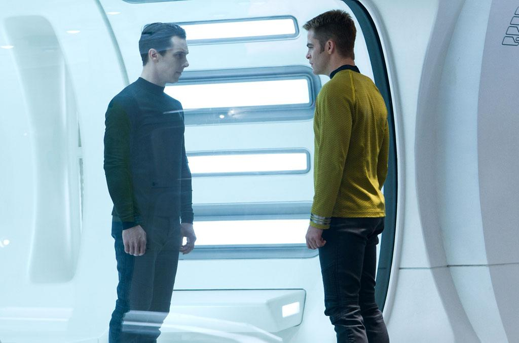 "Benedict Cumberbatch and Chris Pine in Paramount Pictures' ""Star Trek Into Darkness"" - 2013"