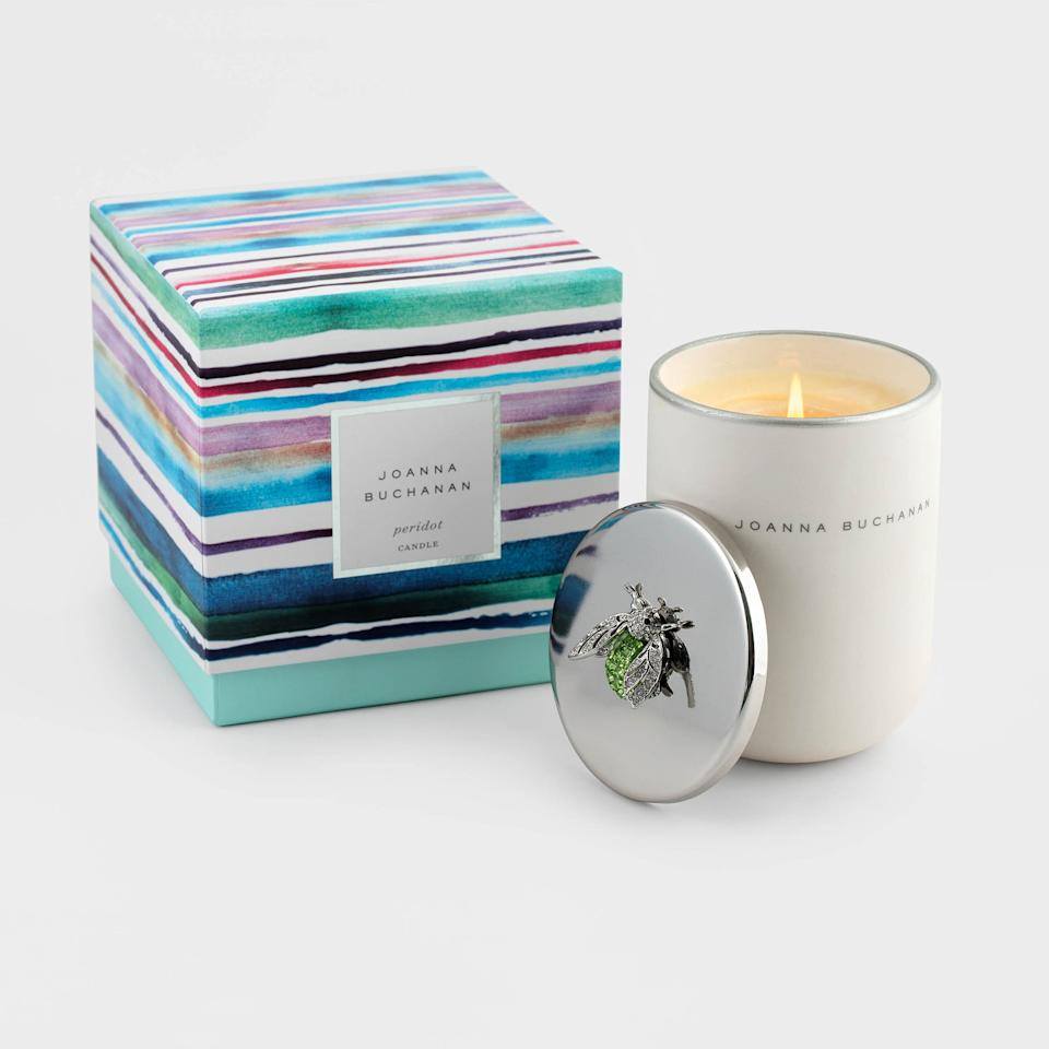 "From the bedazzled lids to the artful box designs, these candles are so luxe-looking, you won't want to burn them. But you should because each one smells better than the next.  <strong>Buy It! </strong>Joanna Buchanan Peridot Candle, $88; <a href=""https://www.joannabuchanan.com/products/peridot-candle"" target=""_blank"" rel=""nofollow"">joannabuchanan.com</a>"