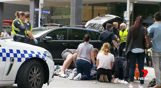 Four people remain in a critical condition after the rampage on Friday. Photo: 7 News