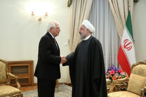 Borrell who is on a mission to lower tensions over Iran's nuclear programme also met Iranian President Hassan Rouhani