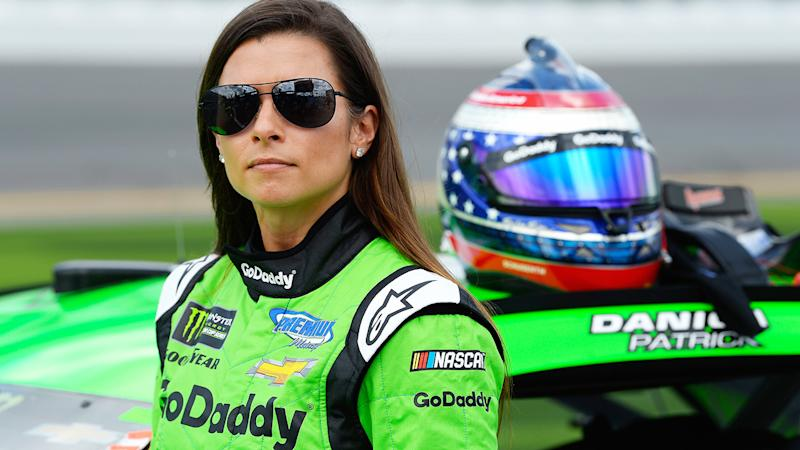 Danica Patrick, pictured here before the Daytona 500 in 2018.