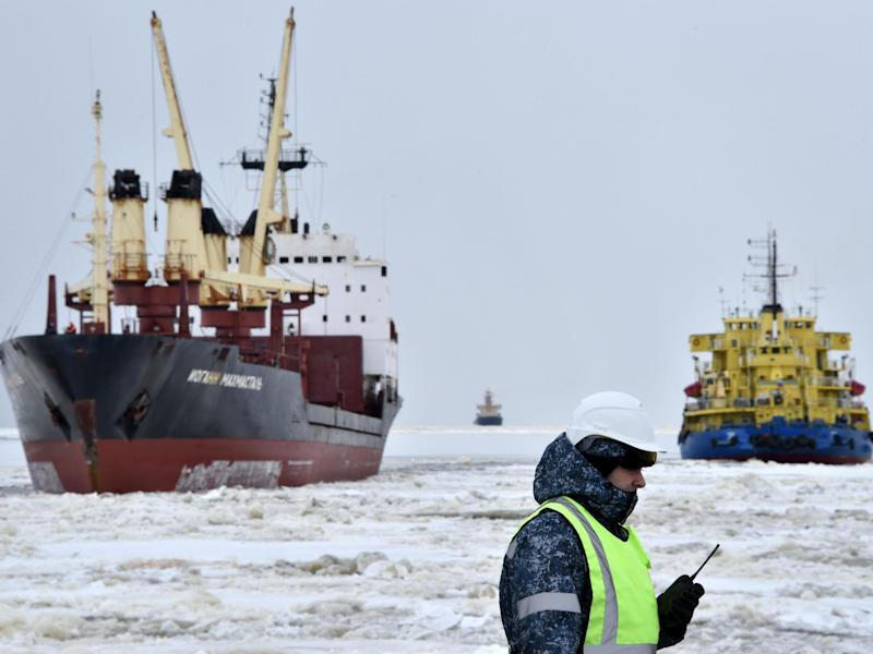 China joins the race for Arctic dominance as ice caps melt