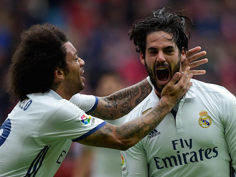 Isco's late winner completed Madrid's dramatic turnaround: Getty