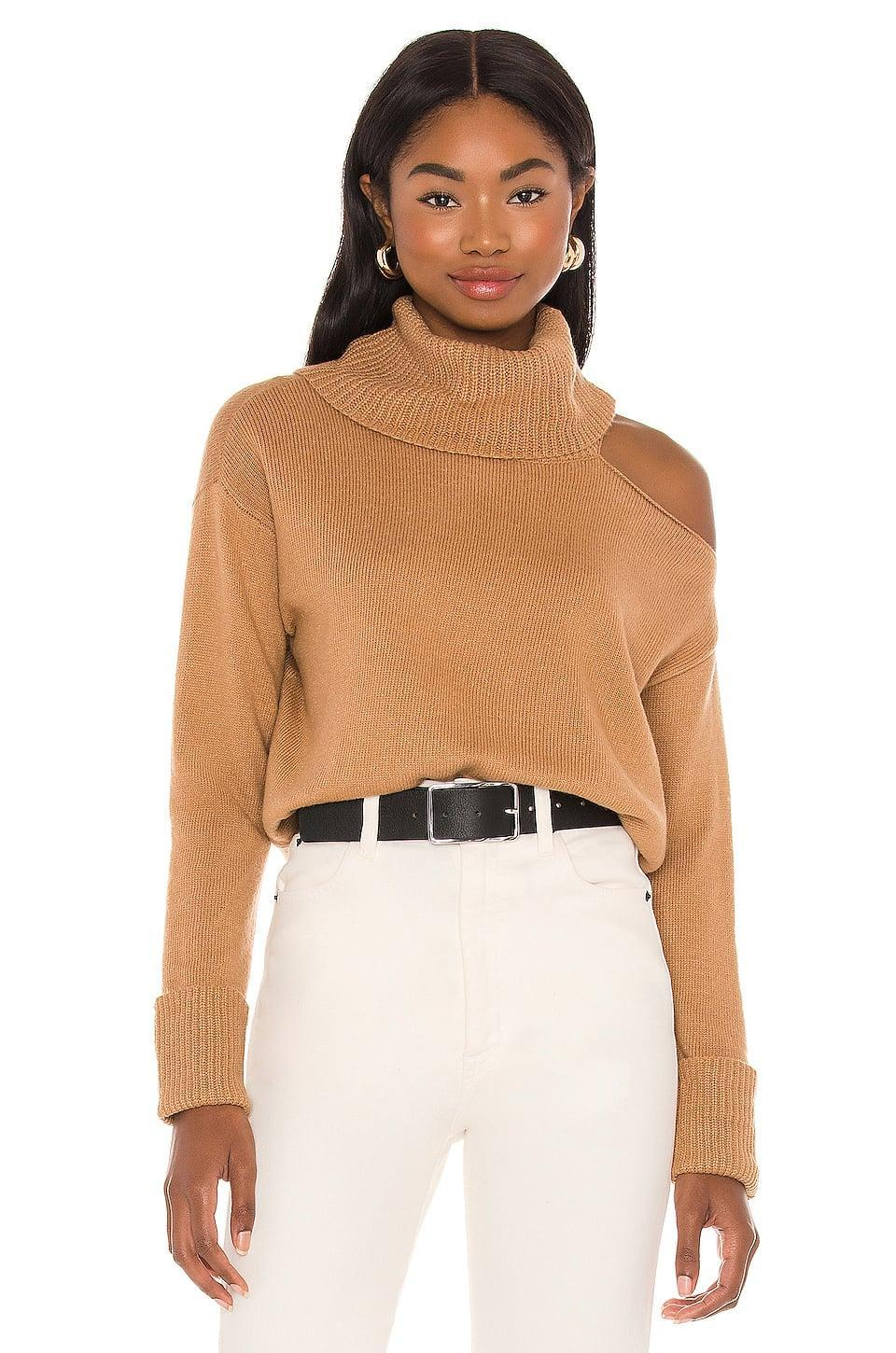 <p>We love the cutout on this <span>1. STATE Turtleneck Cold Shoulder Sweater</span> ($79).</p>