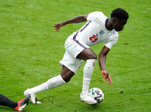 Saka shone after being given a chance to impress in England's final group game.