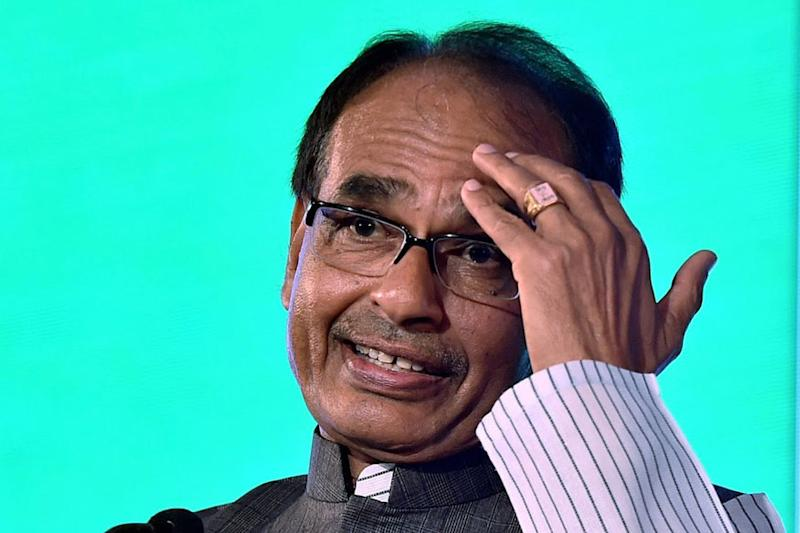 Shivraj Singh Chouhan Slaps His Bodyguard During Rally, Congress Demands Action