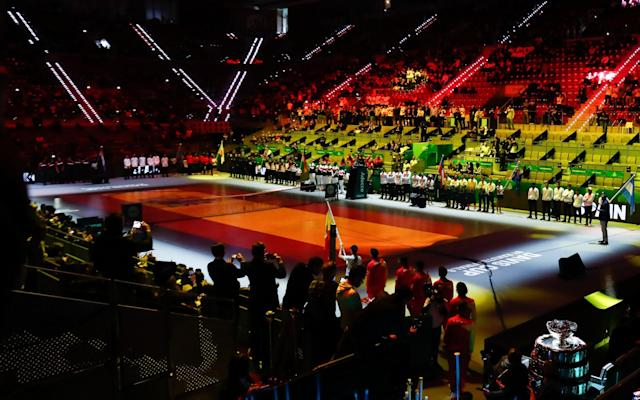 Some seats still available: the opening ceremony of the David Cup in Madrid - Europa Press