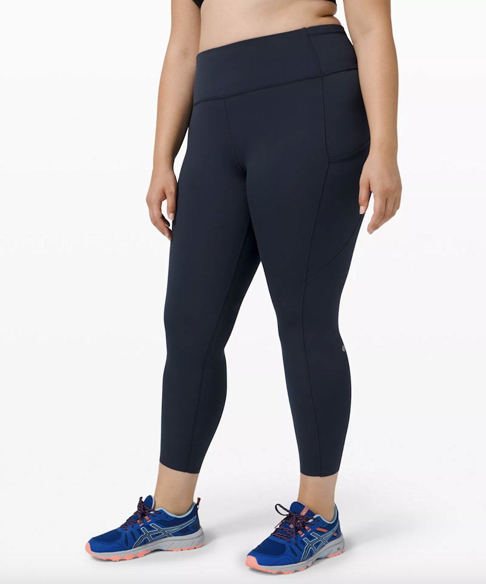 """Runners, this one's for you. Warrington Williams describes the Fast and Free Tight as a """"sweat-wicking, quick-drying fabric that feels sleek and cool to the touch."""" Notable style features include a drawcord string to help keep the tights in place, two side pockets to fit your phone, and five waistband pockets to store valuables. The seamless hem is also designed to minimize chafing. $128, Lululemon. <a href=""""https://shop.lululemon.com/p/women-pants/Fast-And-Free-Tight-II-NR/_/prod8960003?"""" rel=""""nofollow noopener"""" target=""""_blank"""" data-ylk=""""slk:Get it now!"""" class=""""link rapid-noclick-resp"""">Get it now!</a>"""