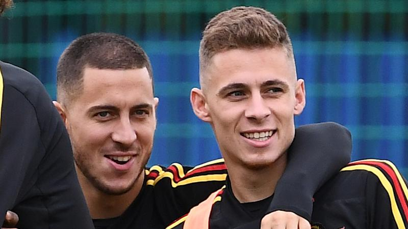 Hazard confirms agreement with Dortmund