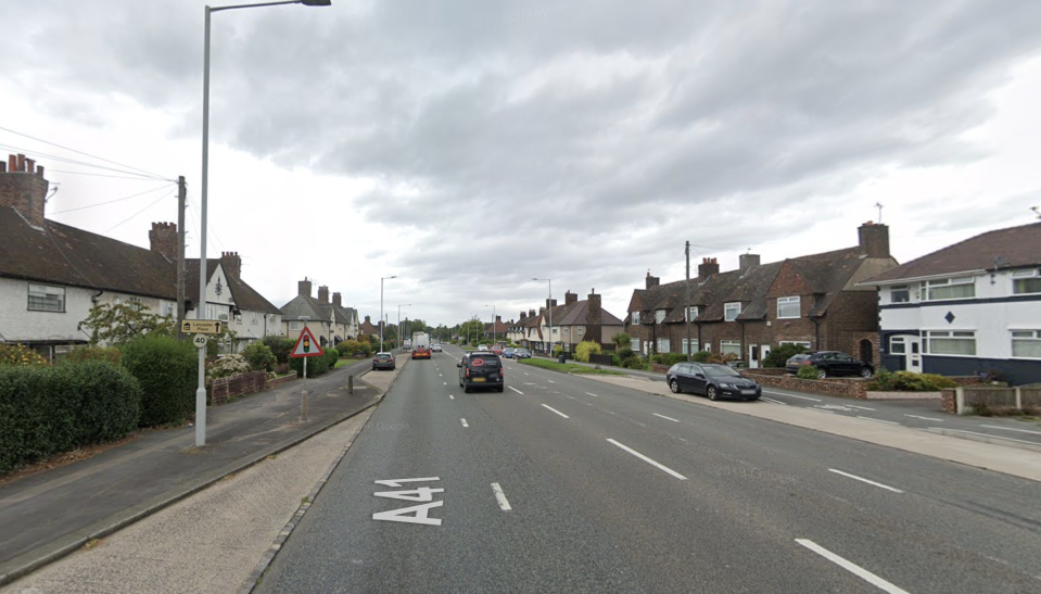 Police were called to New Chester Road in Birkenhead. (Google Maps)