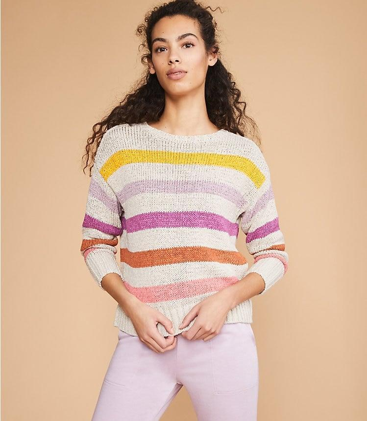 <p>This <span>Lou & Grey Colorline Sweater</span> ($35, originally $80) is an excellent deal.</p>