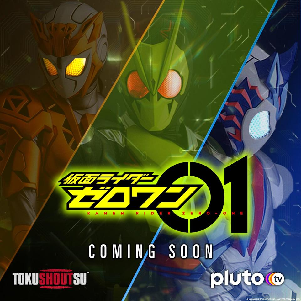 Kamen Rider Zero-One will be the first Reiwa Era series to head to Shout Factory TV and Blu-ray.
