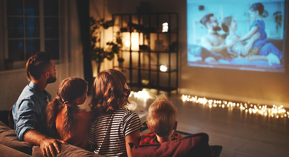 Whether it's family movie night, a match on, or just some down time in the evening, there's one 4k TV you need to know about.  (Getty Images)