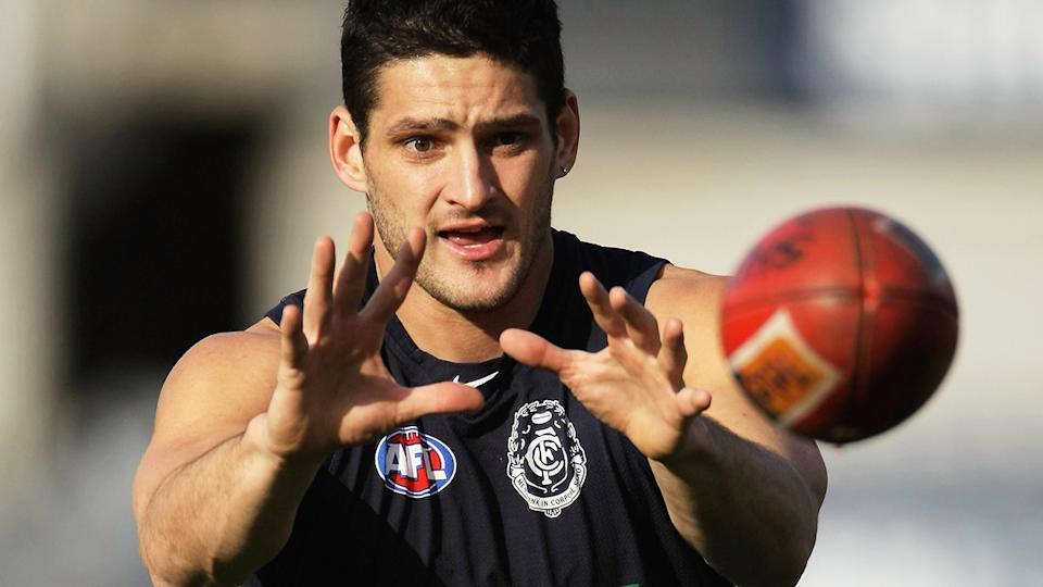 Brendan Fevola's impressive AFL career was tarnished by a series of off-field indiscretions. (Photo by Robert Cianflone/Getty Images)