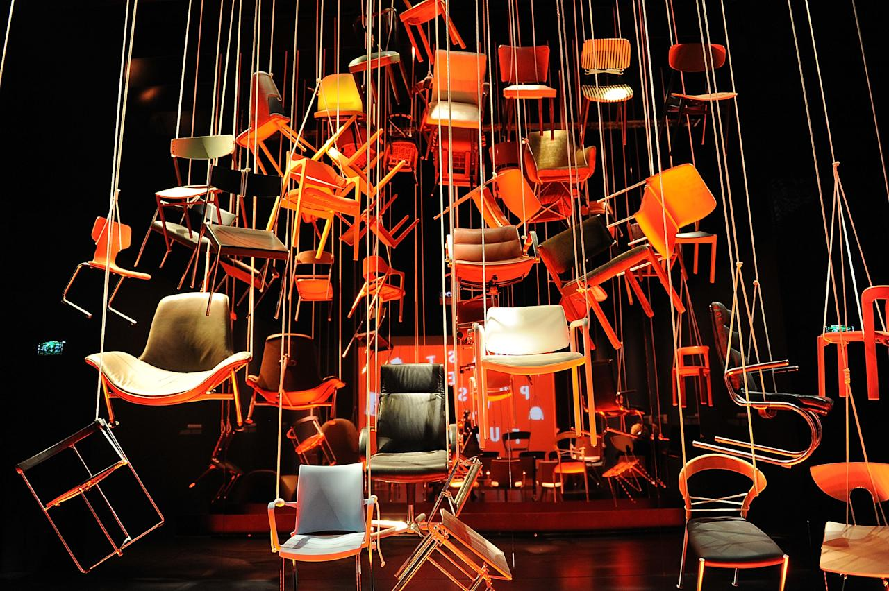 MILAN, ITALY - APRIL 16:  Creations are displayed at the Temporary Museum For New Design during 2012 Milan Design Week on April 16, 2012 in Milan, Italy.  (Photo by Stefania D'Alessandro/Getty Images)