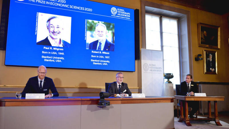 Paul Milgrom, Robert Wilson win Nobel Prize in Economics for auction theory