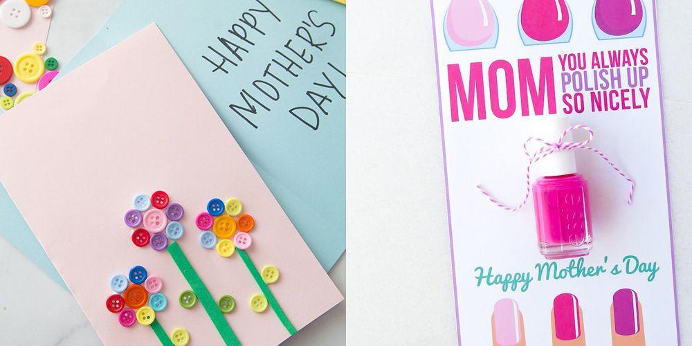 """<p>Let's get this out of the way: Mom deserves the best all 365 days of the year. That means on an occasion as special as Mother's Day, a generic card from the convenience store just won't do. While you're waiting to figure out the perfect gift (Psst, we have <a href=""""https://www.goodhousekeeping.com/holidays/mothers-day/g511/mothers-day-gifts/"""" target=""""_blank"""">a list of mom-worthy ideas</a> to get your search started!), get your craft supplies ready to make these DIY Mother's Day cards come to life. Perfect for your mom, grandma, mother-in-law, or any other motherly figure in your life, these handmade cards are easy enough for kids to make and pretty enough for the recipient to leave on display year-round. Best of all: Several of these ideas double as <a href=""""https://www.goodhousekeeping.com/holidays/mothers-day/g2412/mothers-day-homemade-gifts-crafts/"""" target=""""_blank"""">Mother's Day gifts</a> when paired with affordable beauty add-ons, gift cards, and <a href=""""https://www.goodhousekeeping.com/holidays/mothers-day/g4249/mothers-day-desserts/"""" target=""""_blank"""">freshly baked treats</a>. That means these homemade options surely beat store-bought greeting cards, wouldn't you say? We bet mom would say yes. </p>"""
