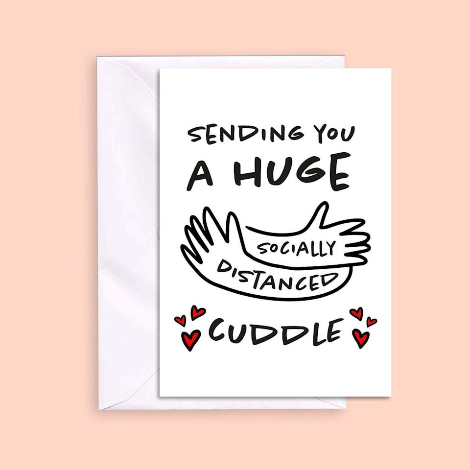 Socially Distanced Hug, Mother's Day, Etsy (Photo: Etsy)