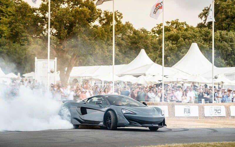 McLaren unveiled its expansion plan at the Goodwood festival of Speed