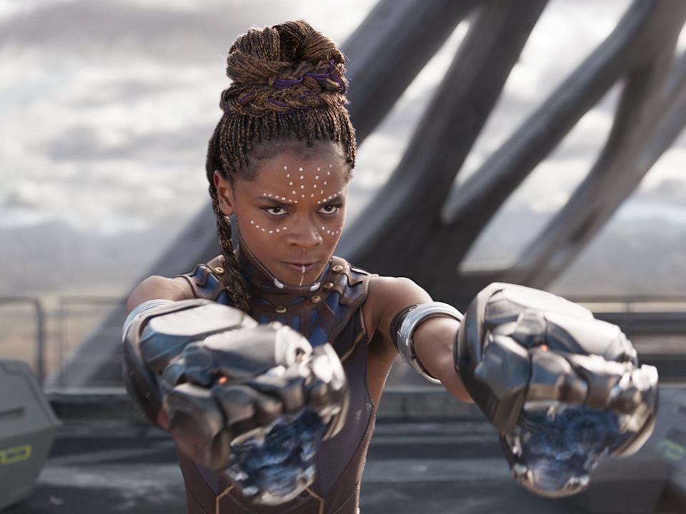 Feige did not confirm or deny reports speculating that Letitia Wright could have an expanded role in the new filmMarvel