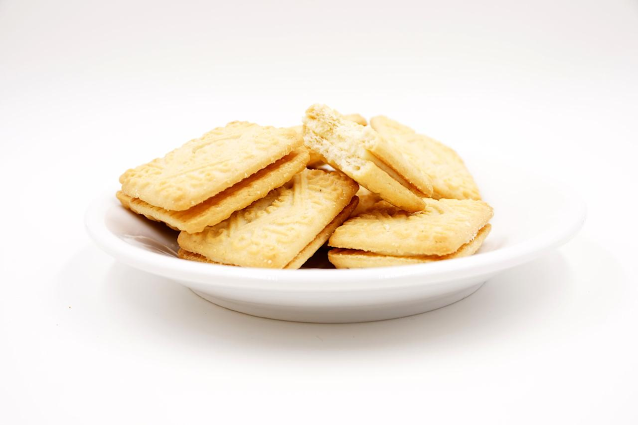 "<p>The classic <a href=""https://www.goodhousekeeping.com/uk/food/recipes/a29812422/giant-custard-cream/"" target=""_blank"">custard cream</a> biscuit has been around since 1908. Famous for its Victorian design and creamy, custardy middle, it is the perfect pack to break into when elevenses strike.  </p><p>With anything popular there's always the temptation to shake things up and give it a new twist. </p><p>As such, the powers that be (or rather the biscuit-makers) have seen fit to give its flavour a make-over, replacing its much-loved centre with coconut cream, rhubarb, strawberry and even coffee. </p><p>Trendy yes, but there's something irresistibly comforting about the traditional flavour of a <a href=""https://www.goodhousekeeping.com/uk/food/recipes/a536863/classic-custard-creams-biscuits/"" target=""_blank"">custard cream</a>. </p><p>Here at the GHI we like ours golden, and plentifully filled with rich vanilla custard filling. Firm but not too hard, the <a href=""https://www.goodhousekeeping.com/uk/food/recipes/g538635/15-of-the-best-biscuit-and-cookie-recipes/"" target=""_blank"">biscuit </a>should crumble in the mouth for a satisfying bite but be robust enough to stand up to some serious dunking. </p><p>As always, our standards were set high when looking for a biccie that fit the bill. </p><p><strong>How we test we:</strong></p><p>Acquiring a selection of biscuits from brands and supermarket own labels we tried and tested 10 custard creams, assessing each product on appearance, aroma, taste and texture.</p>"